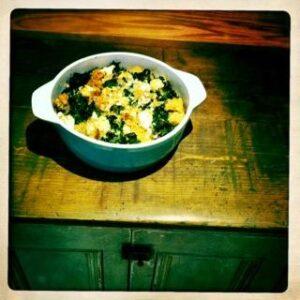 cauli-kale casserole