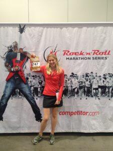 Las Vegas 1:2 Marathon expo 2013